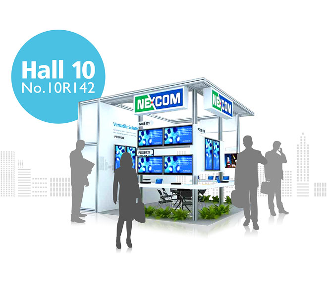 Discover NEXCOM's innovative Digital Signage Solutions at ISE 2012