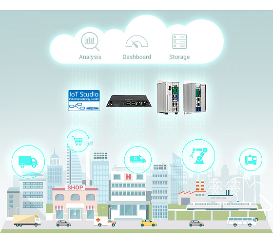 NEXCOM IoT Gateways With IoT Studio Assist Businesses Fostering Cloud Connectivity